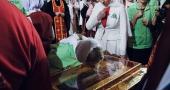 Встреча святителя Николая Чудотворца в Храме Христа Спасителя