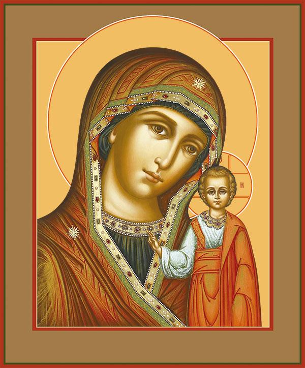 Богослужения в праздник Казанской иконы Божией Матери