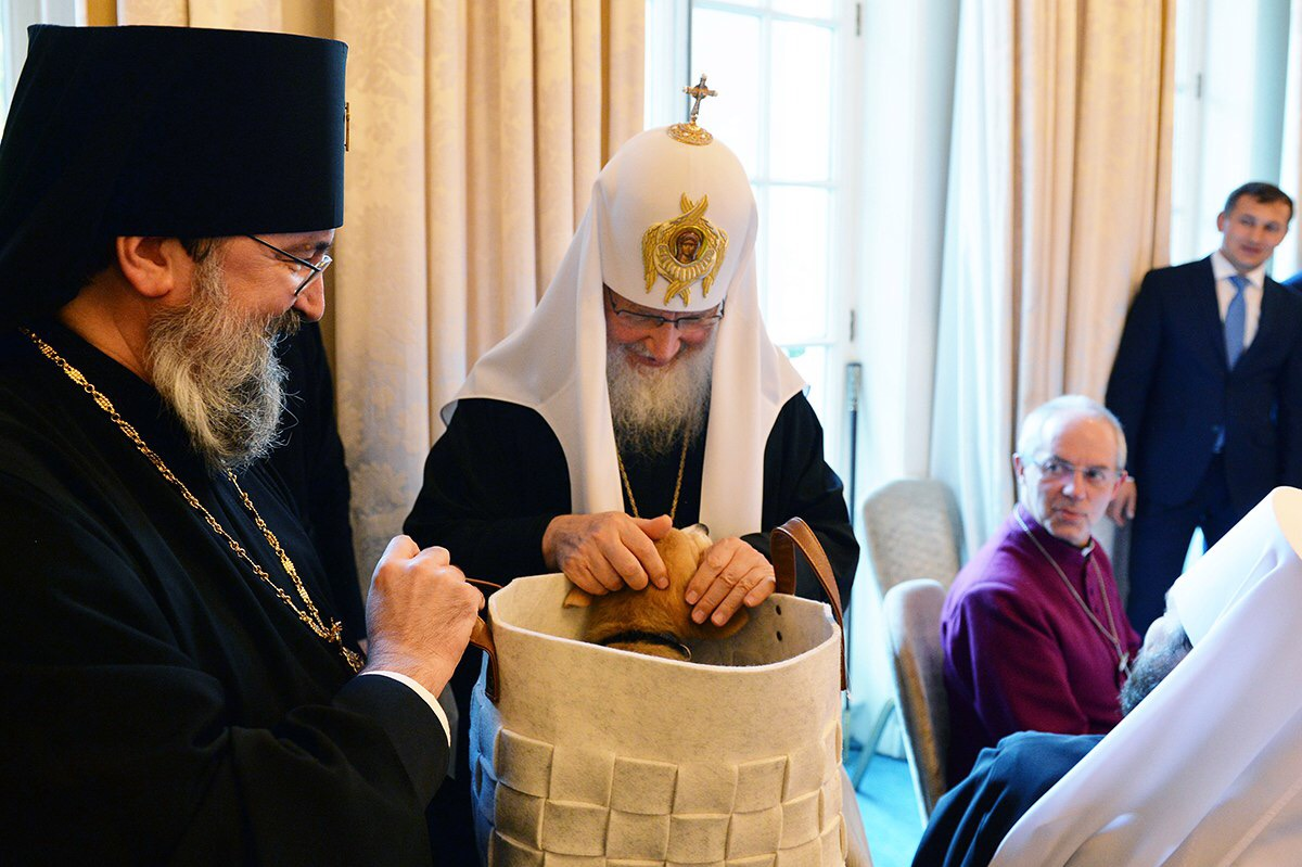 Юбилей Святейшего Патриарха Кирилла