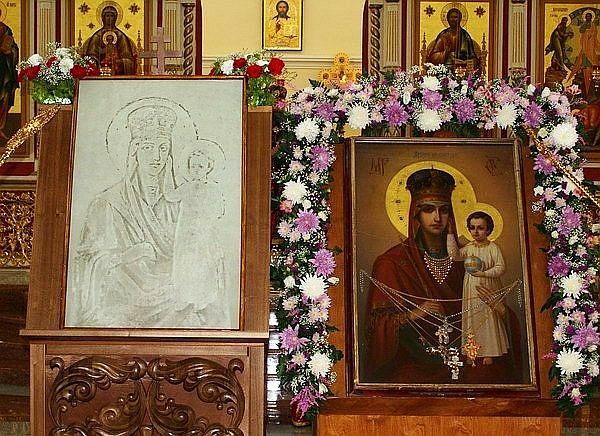 Дежурство у чудотворного образа Пресвятой Богородицы «Призри на смирение»
