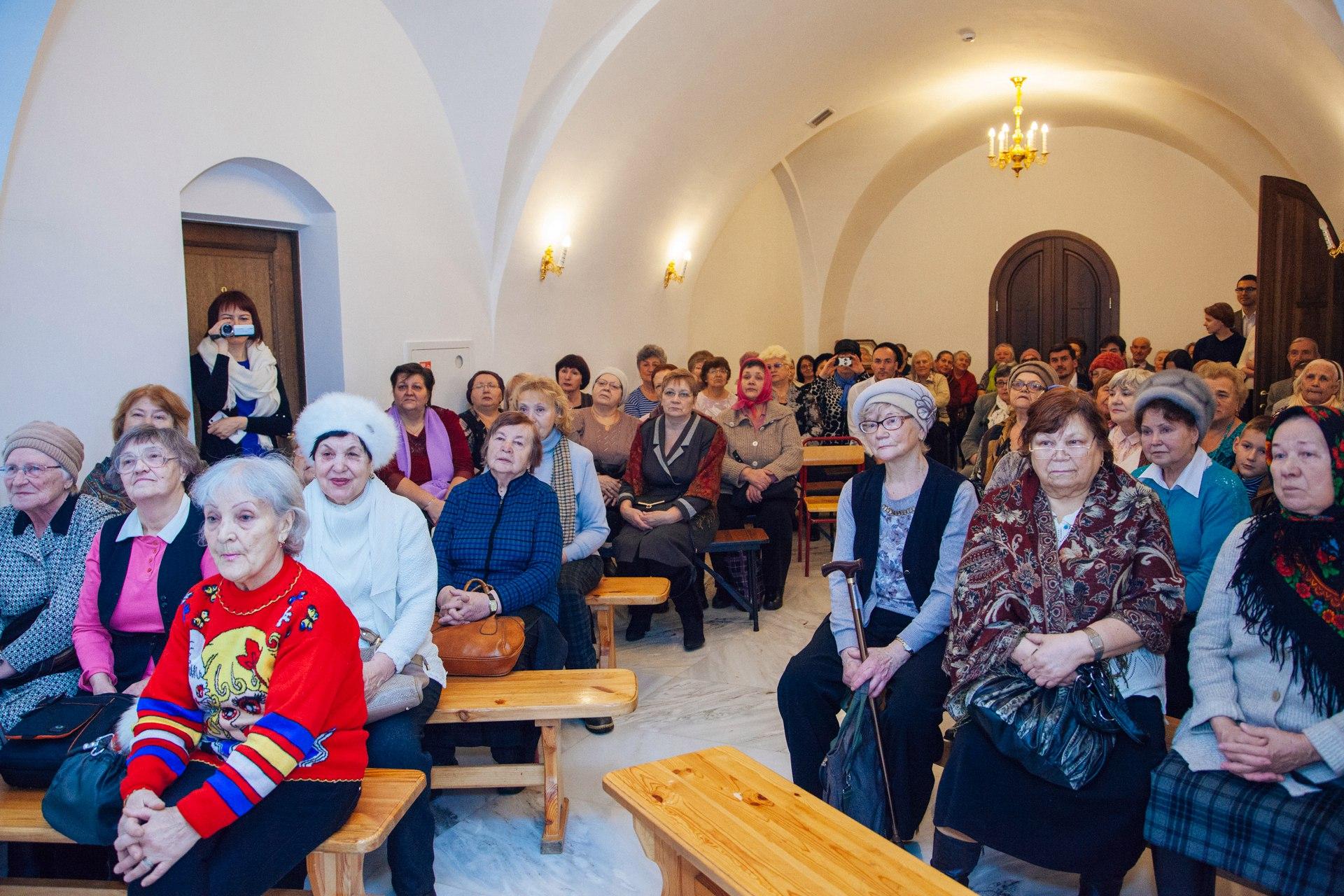 Концерт в храме преподобного Сергия Радонежского в Солнцево