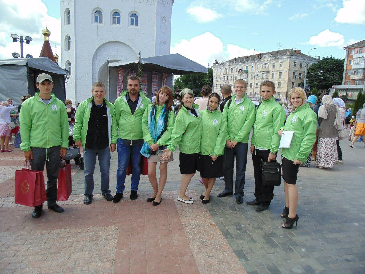 Православные добровольцы Брянска