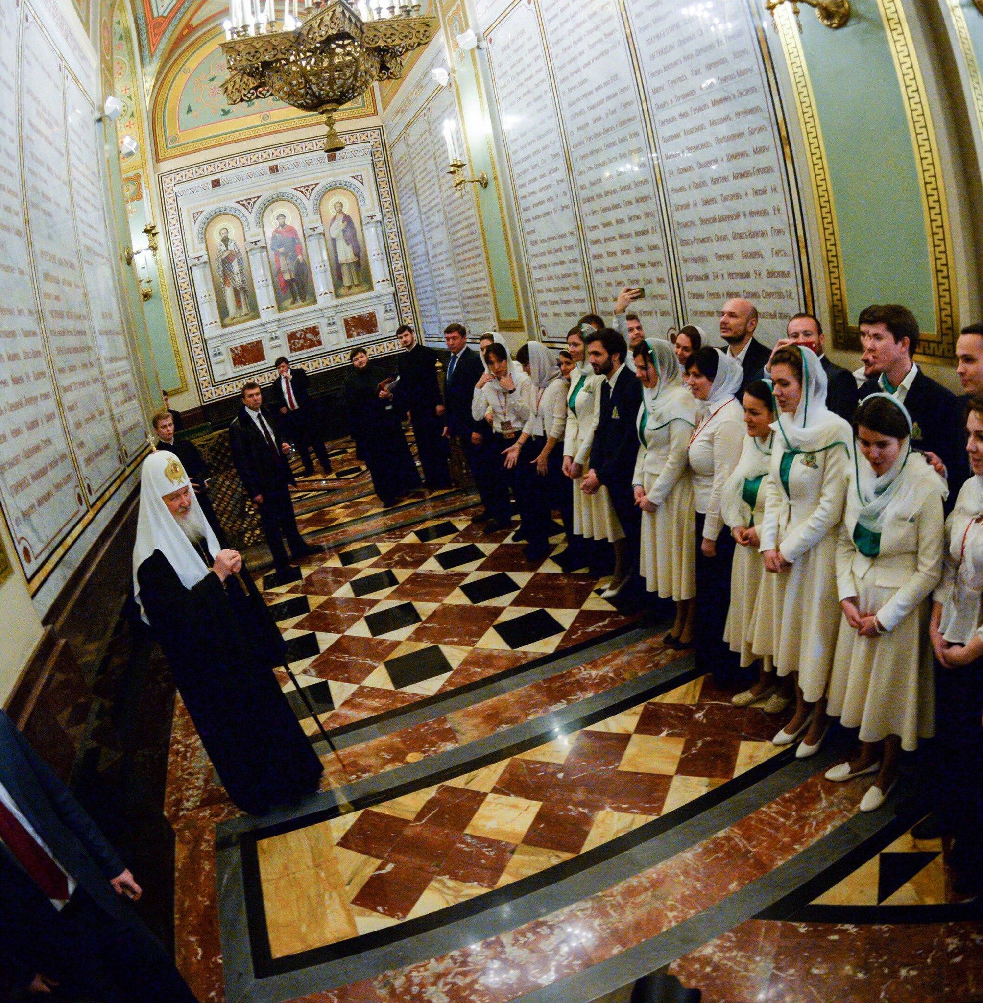 Святейший Патриарх Кирилл о молодежи