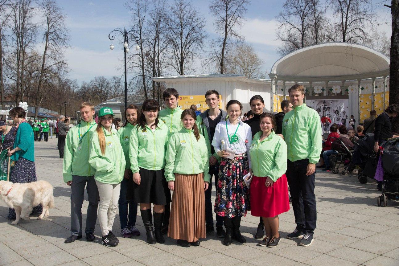 Фотоотчет: Православные добровольцы на фестивале «Белый цветок».