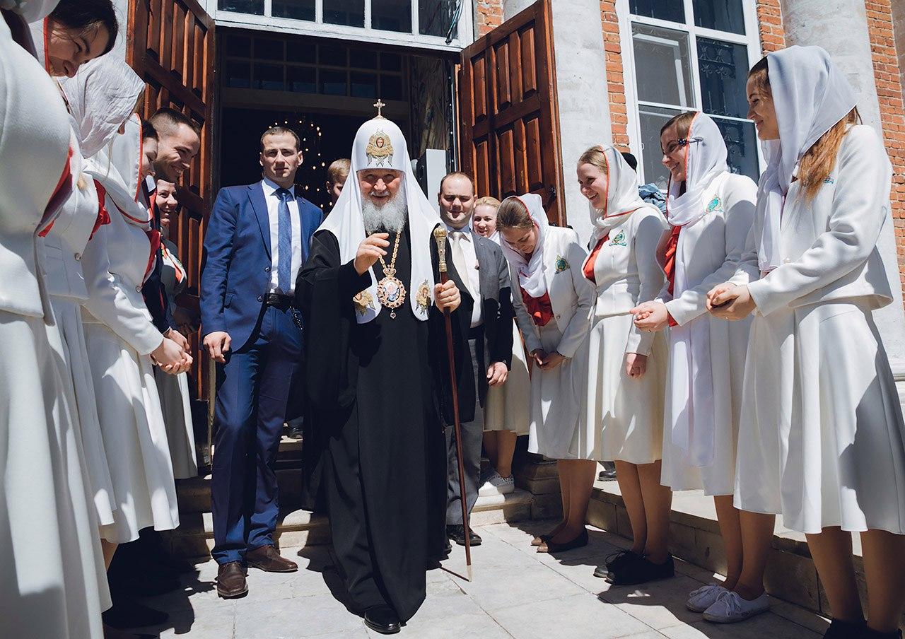 Патриаршее Богослужение в Рязанской области.