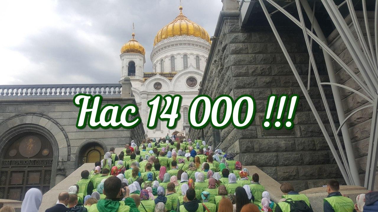 Добровольцы-онлайн! Нас 14000!