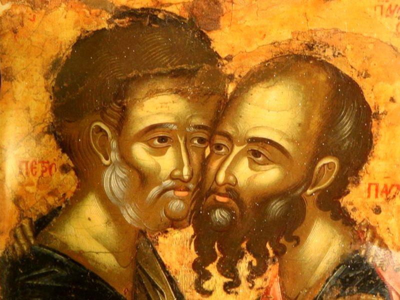 12 июля - день Памяти всехвальных первоверховных апостолов Петра и Павла