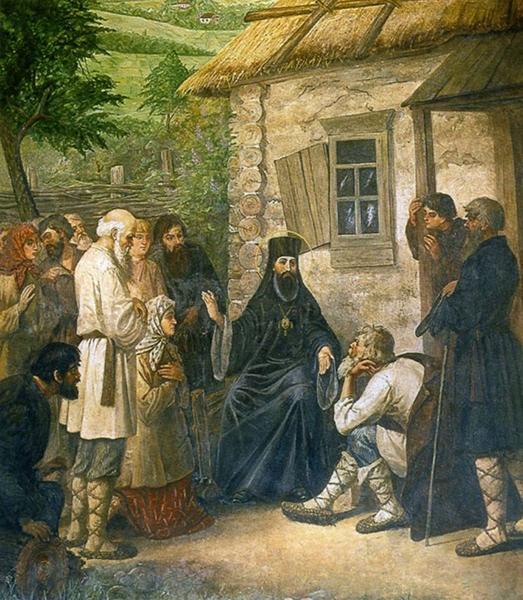 Тихон Задонский занимался просветительской деятельностью