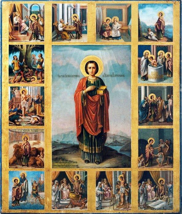 9 августа - День памяти святого великомученика и целителя Пантелеимона