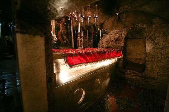 Гробница Пресвятой Богородицы, Гефсимания, Иерусалим