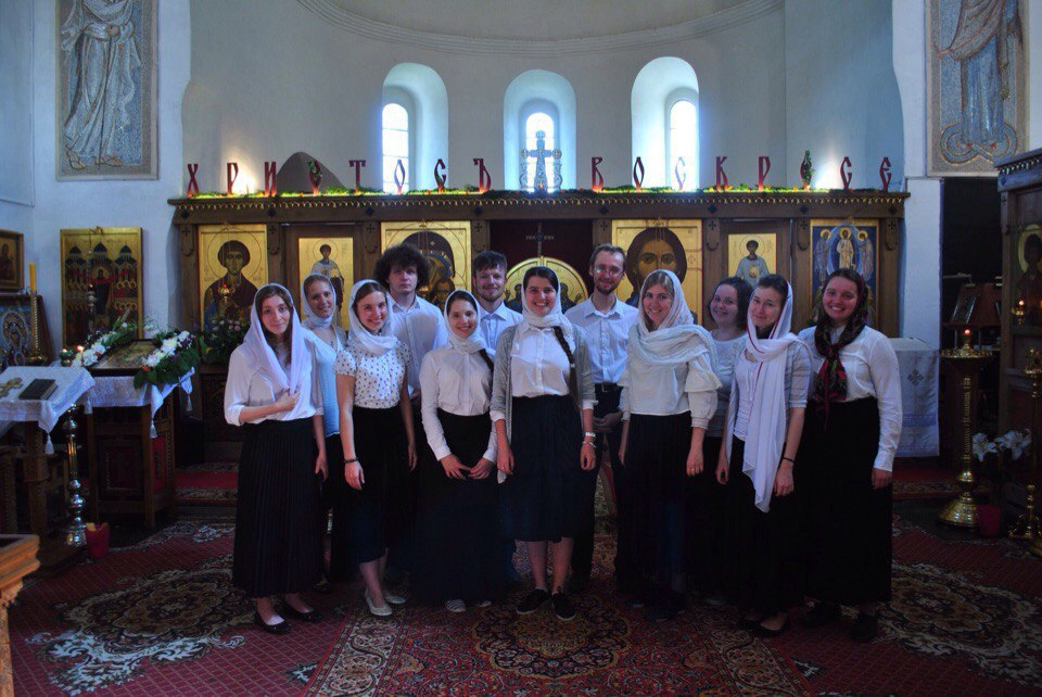Хор Православных Добровольцев под управлением Анны Голик