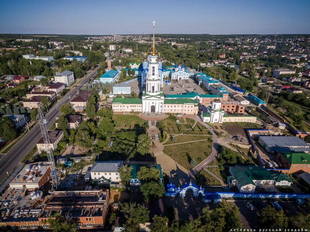 Задонск,ЗадонскийРождество-Богородицкиймужскоймонастырь
