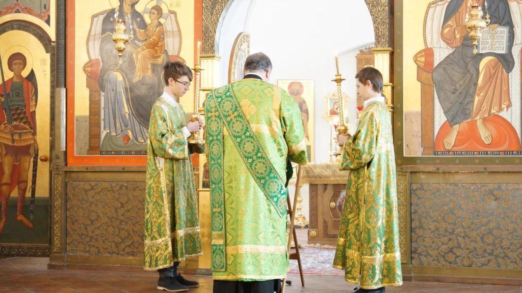 Храм Сорока Севастийских мучеников - Праздник Пятидесятницы