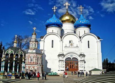 Успенский собор Свято-Троицкой Сергиевой Лавры