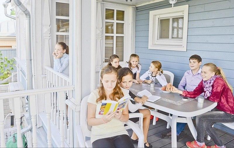 Одна большая семья в приюте имени прп. Евфросинии Московской
