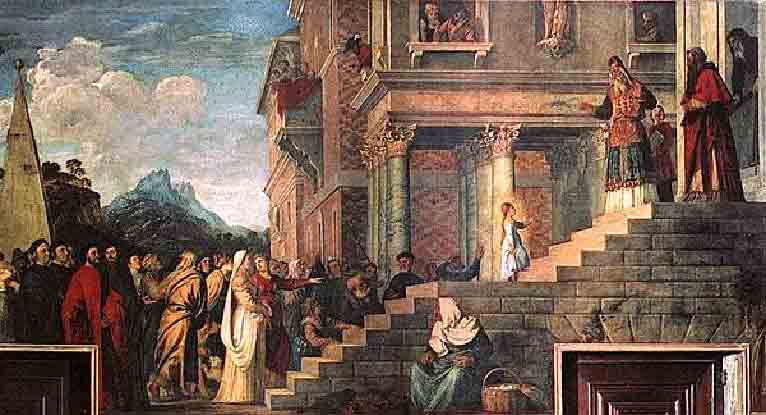 Великий праздник Введения во Храм Пресвятой Владычицы нашей Богородицы и Приснодевы Марии