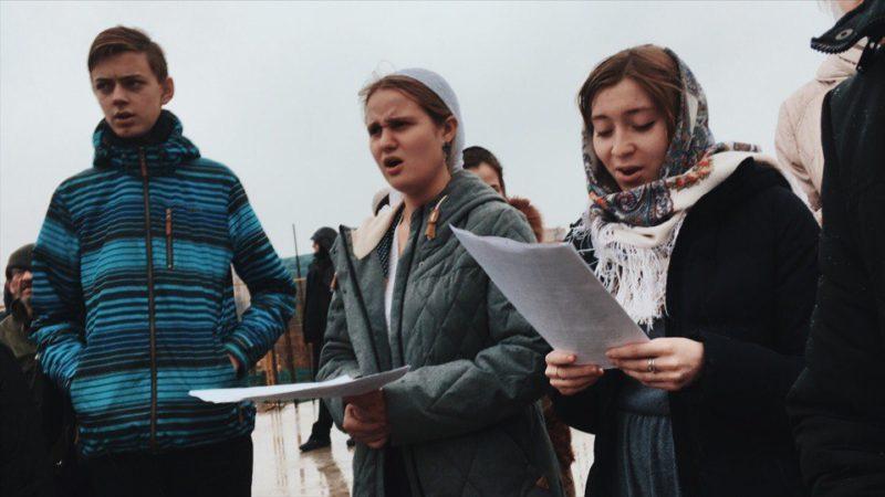 Архиерейская литургия с хором Православных добровольцев