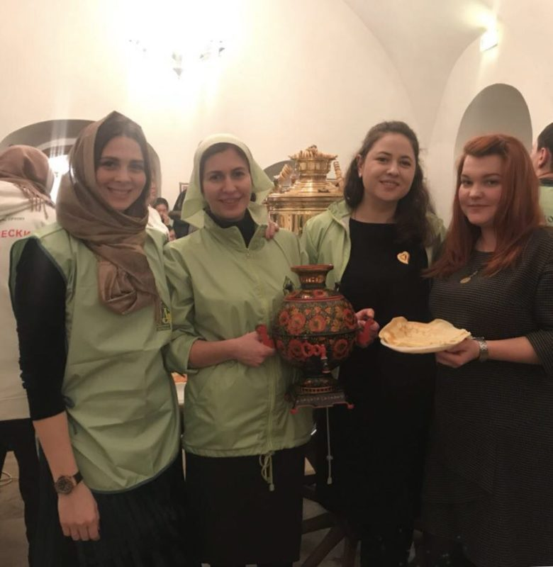 День блинопёка в традициях Православных Добровольцев