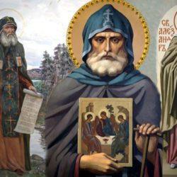 Второе обретение мощей преподобного Александра Свирского