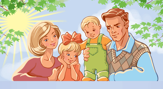 Семья - это самое ценное, что есть в жизни...