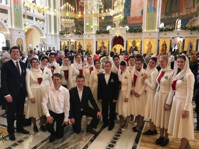 Великое освящение храма Новомучеников и Исповедников в Сретенском монастыре
