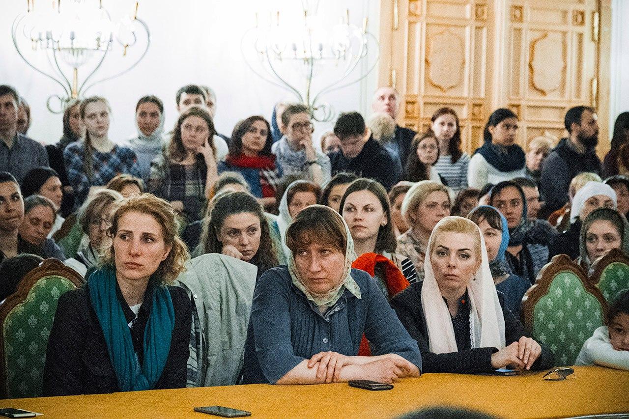 Обучение добровольцев в Храме Христа Спасителя