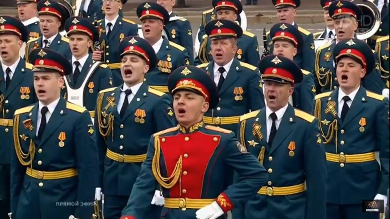 Наш доброволец- участник Парада Победы на Красной площади!