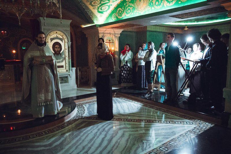 Фотоотчет. 11.06.2017. Ночная литургия в Сретенском монастыре