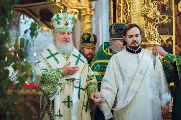 Проповедь Патриарха Кирилла после освящения храма Живоначальной Троицы в Троице-Лыкове