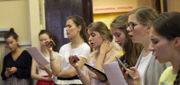 Спевка хора Православных Добровольцев