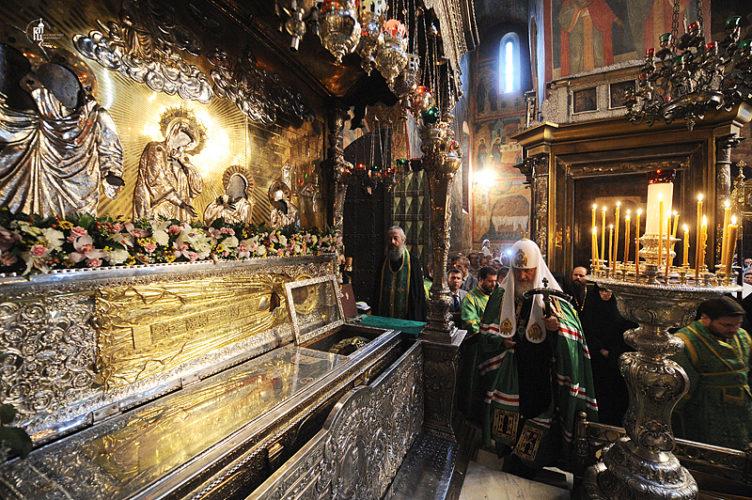 18 июля — день обретения мощей Сергия Радонежского
