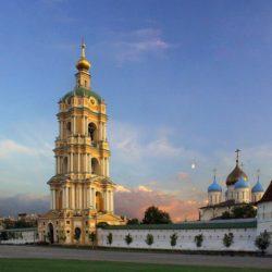 Праздник Преображения Господня в Спасо-Преображенском соборе Новоспасского ставропигиального мужского монастыря