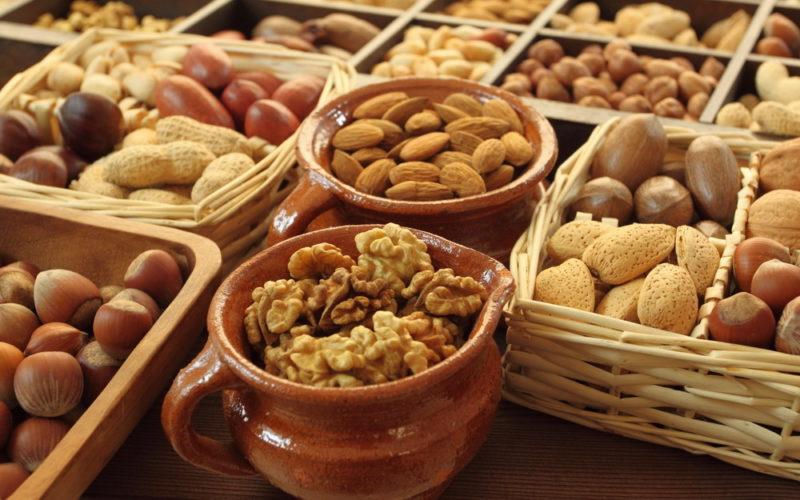 Ореховый спас - орехи