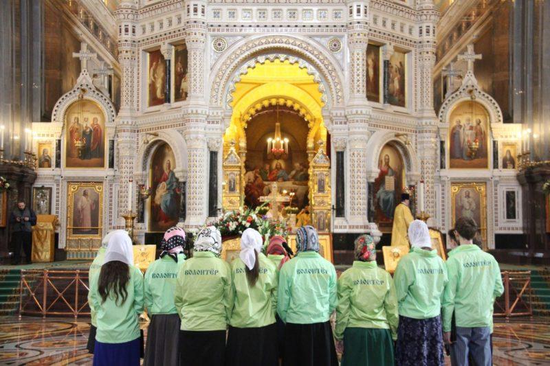 15 декабря пройдет обучение по функционалу добровольца на Патриаршем Богослужении