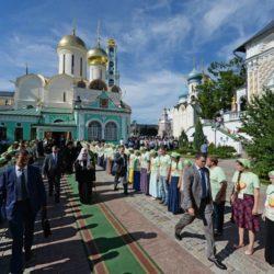 27 мая Патриаршая служба в Троице-Сергиевой Лавре