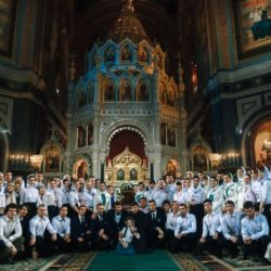 24 мая Патриаршая служба в Храме Христа Спасителя