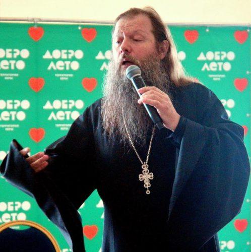 Отец Артемий Владимиров посетил #ДоброЛето