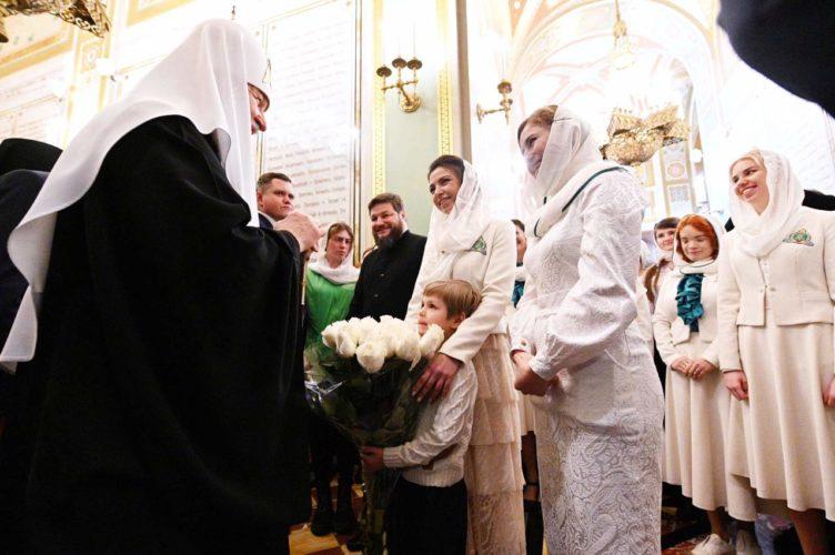 Православные добровольцы помогли организовать праздник Интронизации Святейшего Патриарха Кирилла
